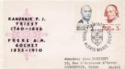 BELGIQUE FDC FRERE ALEXIS MARIE GOCHET  TAMINES 1962 - FDC