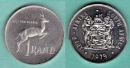 AFRIQUE DU SUD - PIECE DE 1 RAND - 1975 - Afrique Du Sud