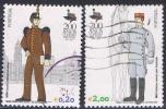 2003 - PORTOGALLO / PORTUGAL - BICENTENARIO DELL'ACCADEMIA MILITARE - UNIFORMI USATO - Usati