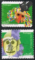 2005/06 - PORTOGALLO / PORTUGAL - MASCHERE DELLA TRADIZIONE. USATO - 1910-... République