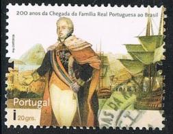 2008 - PORTOGALLO / PORTUGAL - BICENTENARIO DELL'ARRIVO DELLA FAMIGLIA REALE IN BRASILE. USATO - Usati