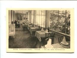 CP - THORAME HAUTE (04) HOTEL FONTGAILLARDE  VERANDA UNE DES SALLES DE RESTAURANT - France