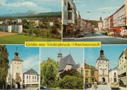 Vöcklabruck Old Postcard Travelled 1981 Bb151102 - Vöcklabruck