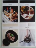 Fre307 N.4 FreeCard Advertising Promo Food Cibo Ricetta Cucina Dolci Sweet Dessert Alimentation Alimentazione - Ricette Di Cucina