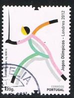 2012 - PORTOGALLO / PORTUGAL - GIOCHI OLIMPICI DI LONDRA. USATO - 1910 - ... Repubblica