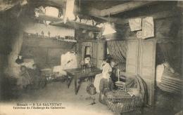 LA SALVETAT INTERIEUR DE L'AUBERGE DU CABARETOU - La Salvetat