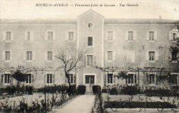 CPA - BOURG-SAINT-ANDEOL (07) - Aspect Du Pensionnat Libre De Garçons En 1920 - Bourg-Saint-Andéol