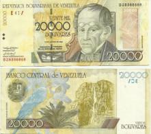Venezuela -20000 Bolivar  2002 VF+ - Venezuela