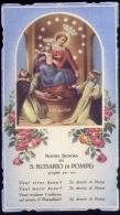 Santino - Nostra Signora Del S.rosario Di Pompei - Images Religieuses