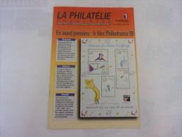 La Philatélie Française, 1998 N° 528, Philexfrance 99, Dunkerque - Magazines