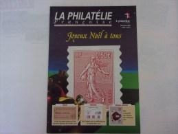 La Philatélie Française, 2001 N°554 Acoustique, Occupation Des îles De La Manche - Magazines