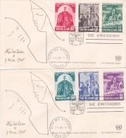 Vaticane 1960 Anno Mondiale Del Rifugiato Busta Primo Giorno - Vatican
