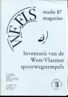 BELGIE WEFIS STUDIE 87 INVENTARIS VAN DE WEST VLAAMSE SPOORWEGSTEMPELS - Autres Livres