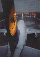 Lufthansa Boeing 737-230 (D-ABFB) Taking Off Old Postcard Unused Bb151102 - 1946-....: Moderne