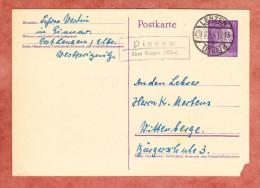 P 299 Hitler, PSST Pinnow Ueber Lenzen, Nach Wittenberge 1943 (81035) - Allemagne