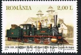 2011 - ROMANIA - TRENO. USATO - 1948-.... Républiques