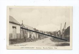 CPA - Fréchencourt  - Rue De L'église - Bas  - Auto , Voiture Ancienne - Andere Gemeenten