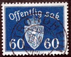 Norway 1941  Minr 42 TRONDHEIM   ( Lot C 397 ) - Dienstmarken