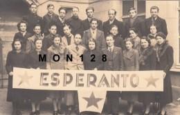 """CARTE PHOTO """" ESPERANTO"""" - Esperanto"""