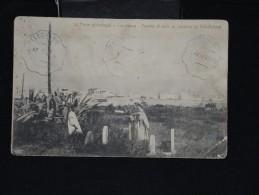 """FRANCE - MAROC - Obl """" Télegraphie Militaire 1909 Sur Cp (quelque Peu Décollée)  - Lot P12043 - Marokko (1891-1956)"""