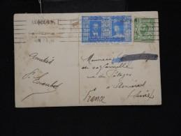 GRANDE BRETAGNE - Vignette Sur Cp Du Roi Georges V Et Reine Mary En 1911  - Lot P12044 - 1902-1951 (Rois)