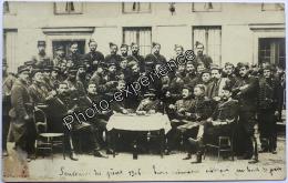 CPA Carte Photo Evènement Grèves Militaire Cavalier 1906 Eure & Loir 28 ? - Grèves