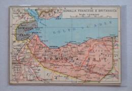 Cartolina Serie Africa Orientale N.4 - Somalia Francese E Britannica. Ed.S.A. Il Mondo Geografico - Milano - Somalie