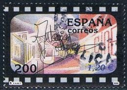 Espagne - Cinéma 3325 (année 2000) Oblit. - 1991-00 Oblitérés