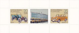 Germany DDR 1979 Automobiles Miniature Sheet MNH - [6] Democratic Republic