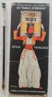 Naja (tabac D'Orient) - Dess F. Fabiano - Au Dos : Pub Allumettes De La Régie Française - Documents