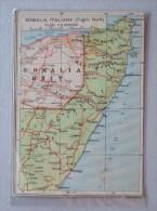 Cartolina Serie Africa Orientale N.5 - Somalia Italiana (Foglio Nord). Ed.S.A. Il Mondo Geografico - Milano - Somalie