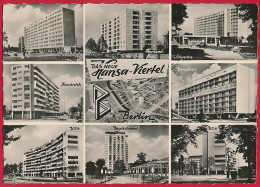 Foto-AK BERLIN ´Das Neue Hansa-Viertel´ ~ 1958 - Mitte