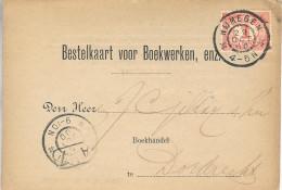 1900 Grootrond NIJMEGEN Op Bestelkaart Naar Dordrecht - Poststempels/ Marcofilie