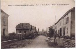 Cpa  BADONVILLER Entrée De La Ville Route De Pierre Percée - Sin Clasificación