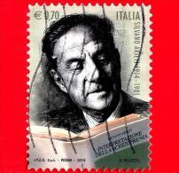 ITALIA - 2014 - Usato - Centenario Della Nascita Di Silvano Arieti, Psichiatra - 0,70 € • Ritratto - 2011-...: Usati