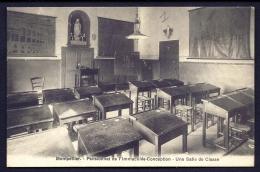 CPA ANCIENNE- FRANCE-  MONTPELLIER (34)- PENSIONNAT DE L'IMMACULÉE CONCEPTION- UNE SALLE DE CLASSE - Montpellier