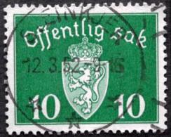 Norway    Minr.35    STEINKJER 12-3-1952  (Lot  C 420 ) - Service