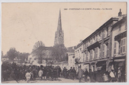 FONTENAY-LE-COMTE - Le Marché - Fontenay Le Comte