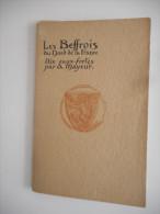 LES BEFFROIS DU NORD DE LA FRANCE, POCHETTE DE 10 EAUX FORTES DE A. MAYEUR, BERGUES, BETHUNE, BOULOGNE... - Prints & Engravings