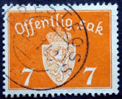 Norway 1941   Minr.34 PRESTFOSS 22-1-1943  (Lot  C 426 ) - Service