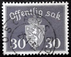 Norway 1947   Minr.56  OSCARSBORG  25-1-1952  (Lot  C 448 ) - Service