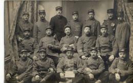 CPA(29) HUELGOAT 72 Eme D Infanterie 7eme Camp (carte Photo) - Huelgoat