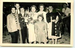 DEP 06 CANNES PHOTO FORMAT CARTE BATAILLE DES FLEURS 1954 - Photos