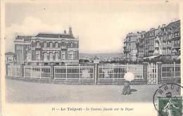 LE TREPORT 76 - Le Casino Façade Sur La Digue - CPA -  Seine Maritime - Le Treport