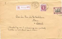 15445. Carta Certificada ASSENEDE (belgien) 1926. Lacres, Registered Mail - Bélgica