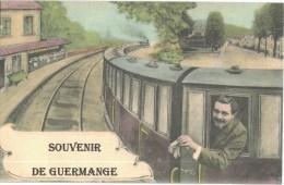 Carte Postale Ancienne De GUERMANGE-Souvenir - France