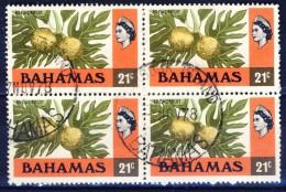 ##Bahamas 1976. Breadfruits. Michel 403 In Bloc Of 4. Used(o) - Bahamas (1973-...)