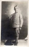 55Hys   Carte Photo Militaire Soldat Du 134 Eme Regiment (pierre Narieval) - Personen