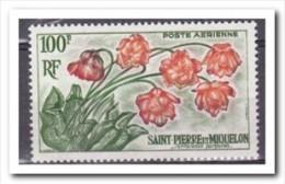 Saint-Pierre Et Miquelon 1962, Postfris MNH, Flowers - St.Pierre & Miquelon