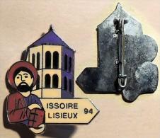 Insigne (broche) Des Pèlerins D'Issoire (63) Pour Le Pèlerinage De Lisieux 1994 - Religion & Esotérisme